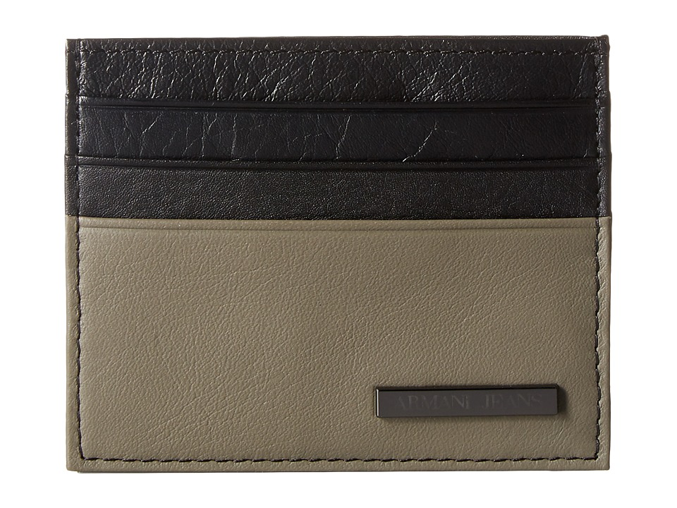 Armani Jeans - Leather Porta Carta (Grey) Bags
