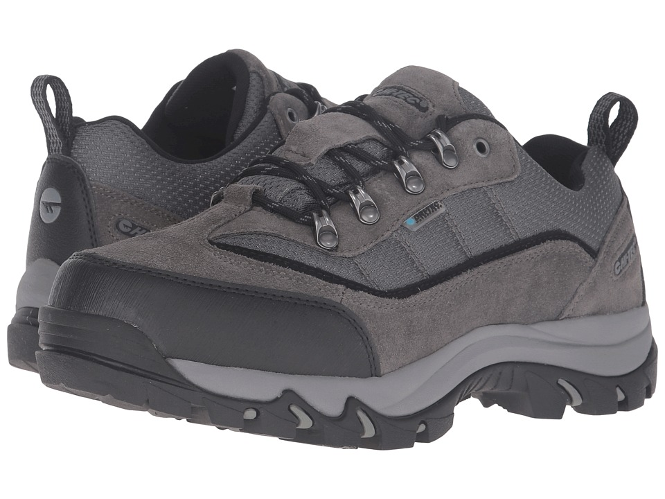 Hi-Tec - Skamania Low Waterproof (Dark Charcoal/Black/Grey) Men's Shoes
