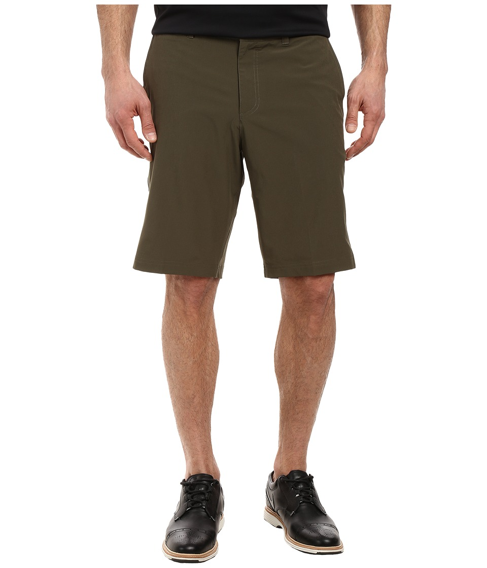 Nike Golf Flat Front Stretch Woven Shorts (Cargo Khaki/Dark Grey/Wolf Grey) Men