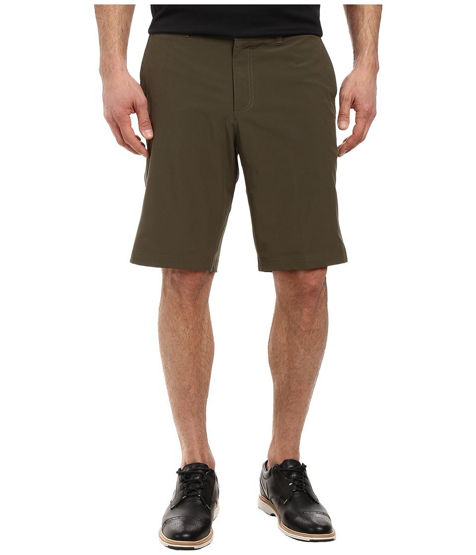 Nike Golf - Flat Front Stretch Woven Shorts (Cargo Khaki/Dark Grey/Wolf Grey) Men's Shorts