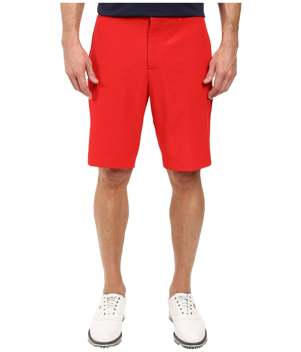 Nike Golf - Flat Front Stretch Woven Shorts (University Red/Dark Grey/Wolf Grey) Men's Shorts