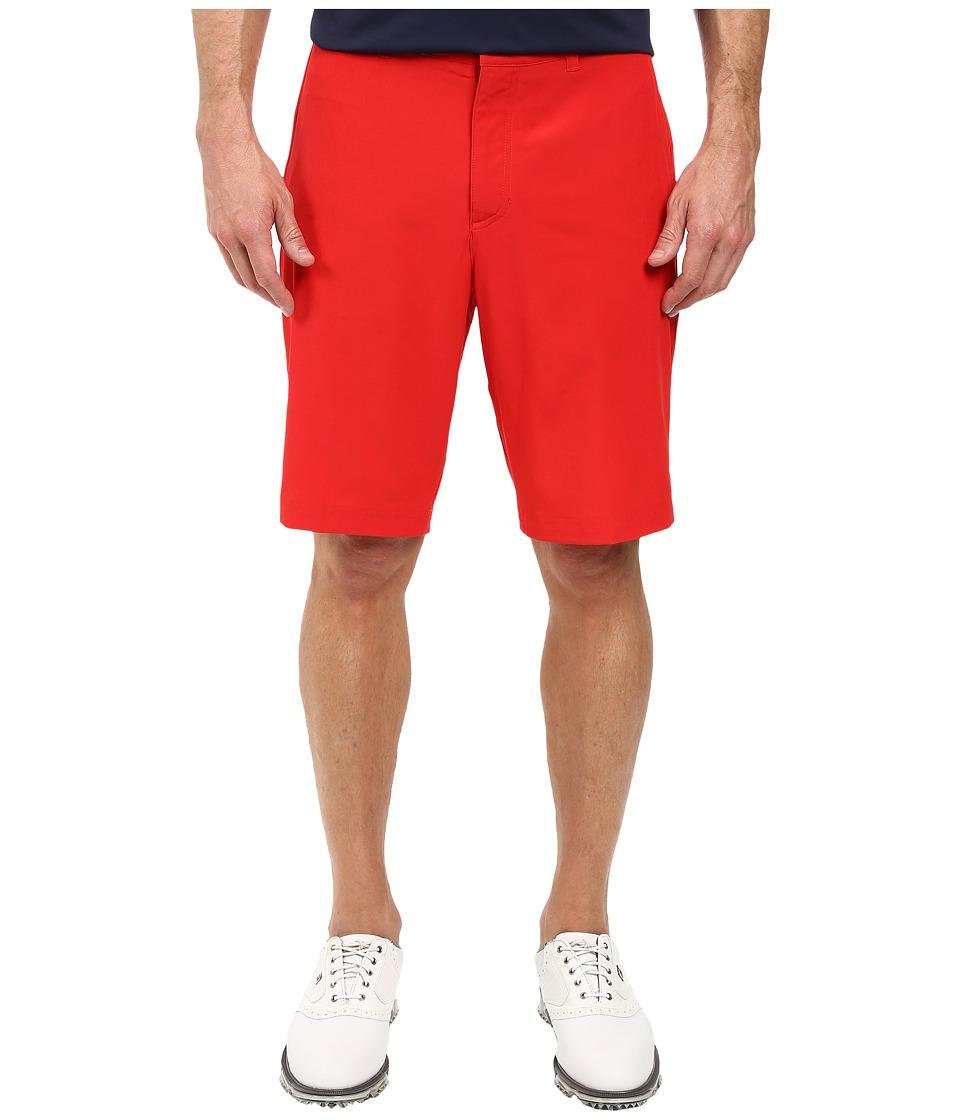 Nike Golf - Flat Front Stretch Woven Shorts (University Red/Dark Grey/Wolf Grey) Men's Shorts