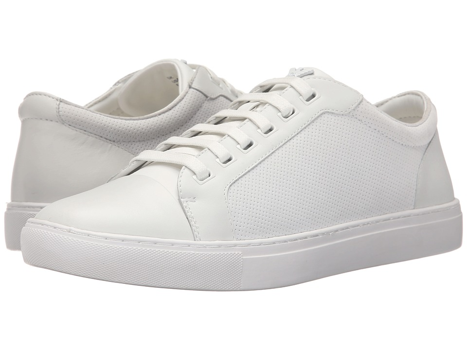 Armani Jeans - Sneaker (White) Men's Lace up casual Shoes