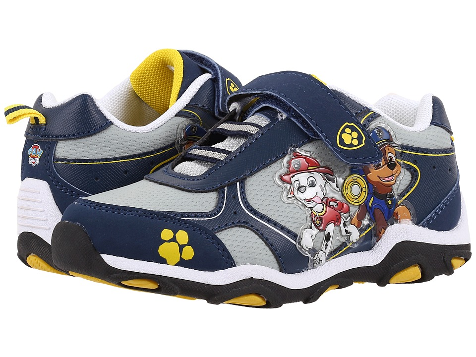 Josmo Kids - Paw Patrol Sneaker (Toddler/Little Kid) (Navy/Yellow) Boys Shoes
