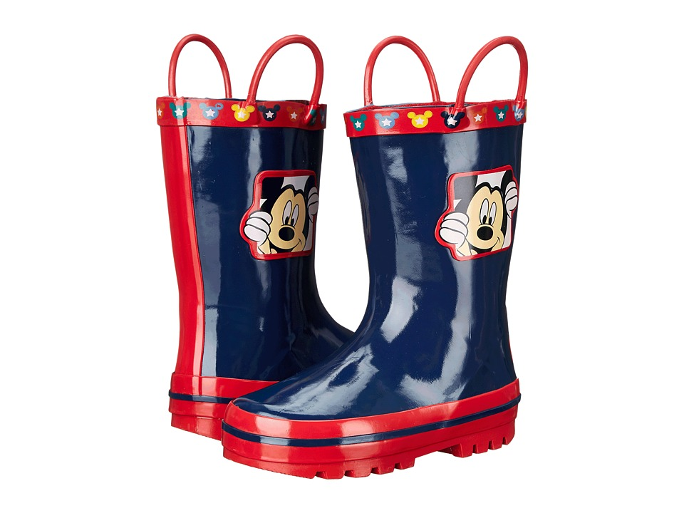 Josmo Kids - Mickey Boot (Toddler/Little Kid) (Navy/Red) Boys Shoes