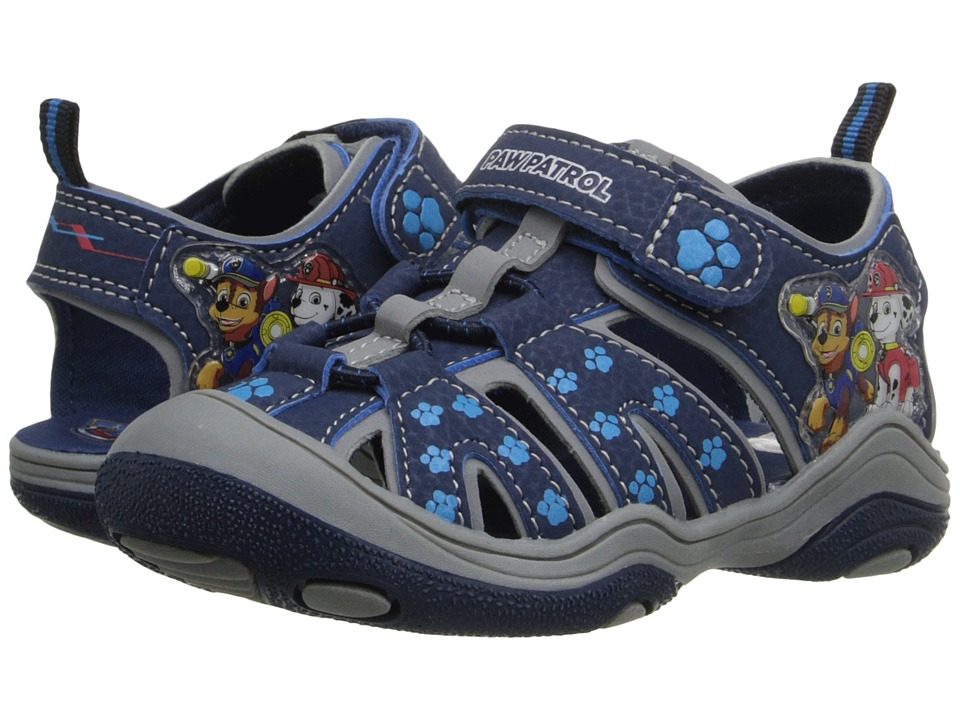 Josmo Kids - Paw Patrol Fisherman Sandal (Toddler/Little Kid) (Navy) Boys Shoes