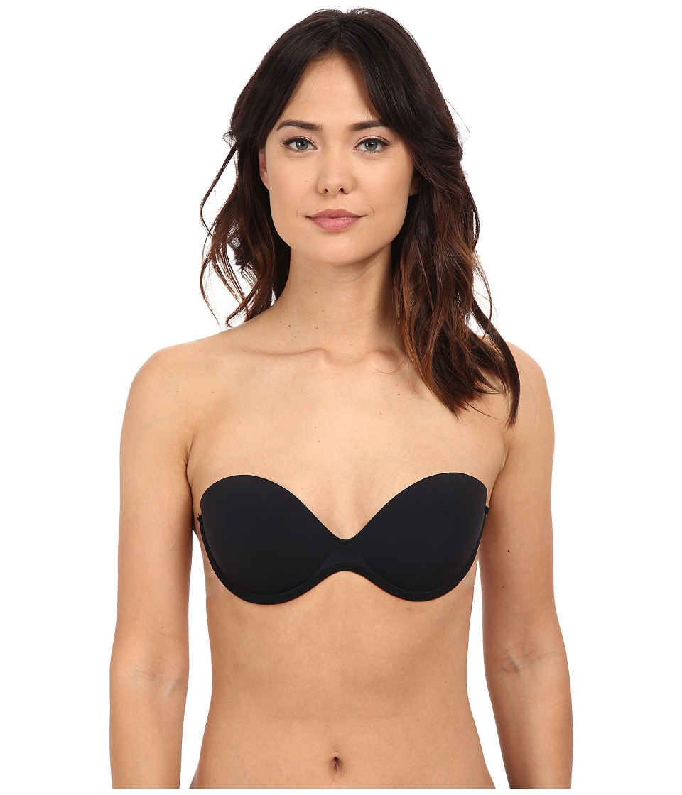Fashion Forms - Go Bare Backless Strapless Bra (Black) Women's Bra