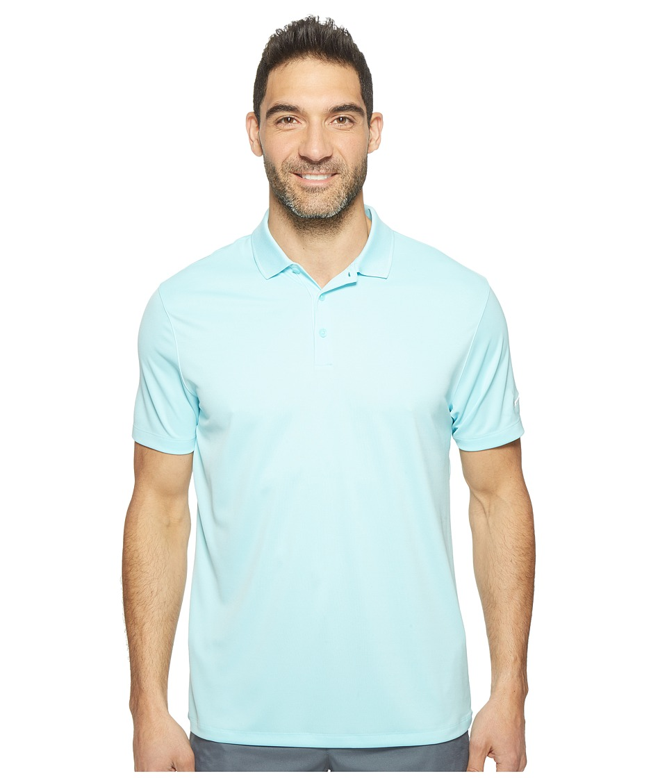 Nike - Victory Solid Polo (Copa/White) Men's Short Sleeve Pullover