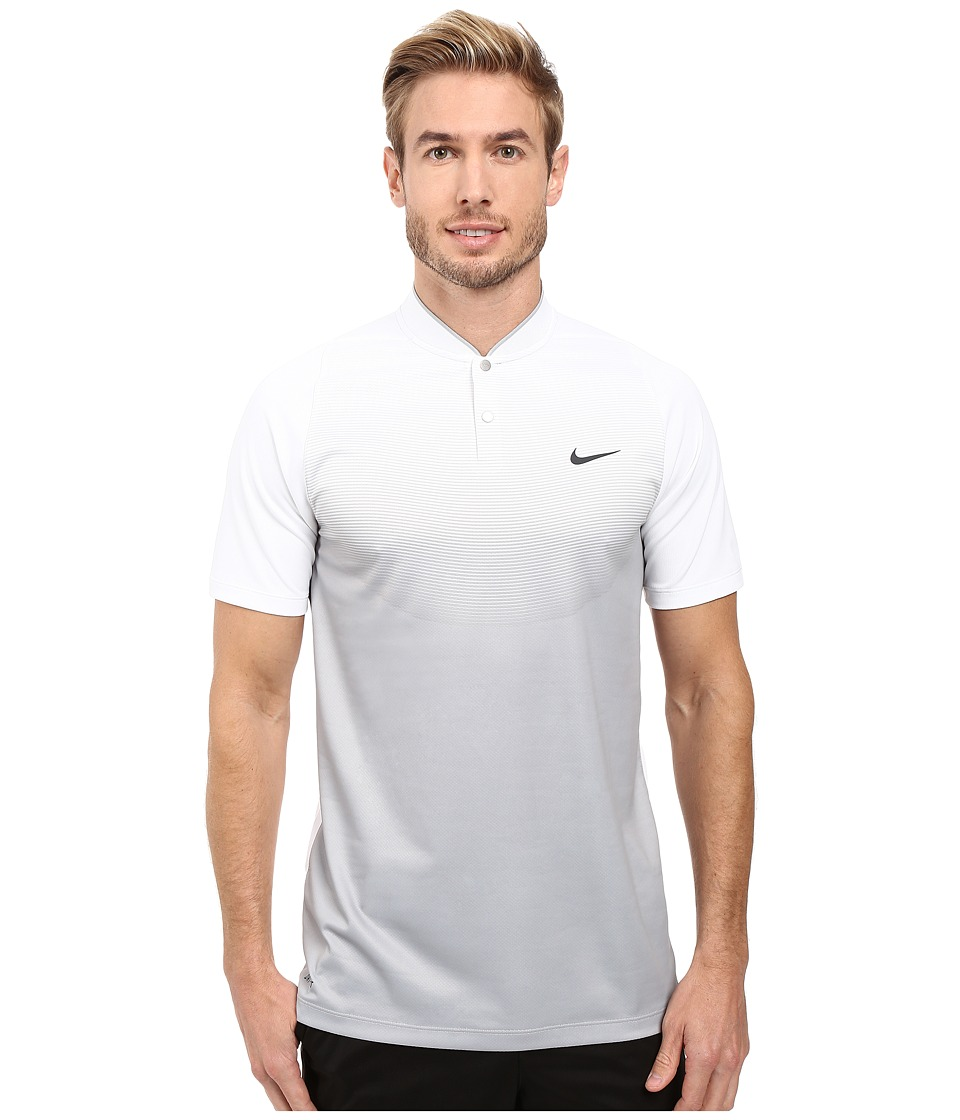 Nike - Tiger Woods Vl Max Sphere Print Polo (White/Wolf Grey/Reflect Black) Men's Short Sleeve Pullover