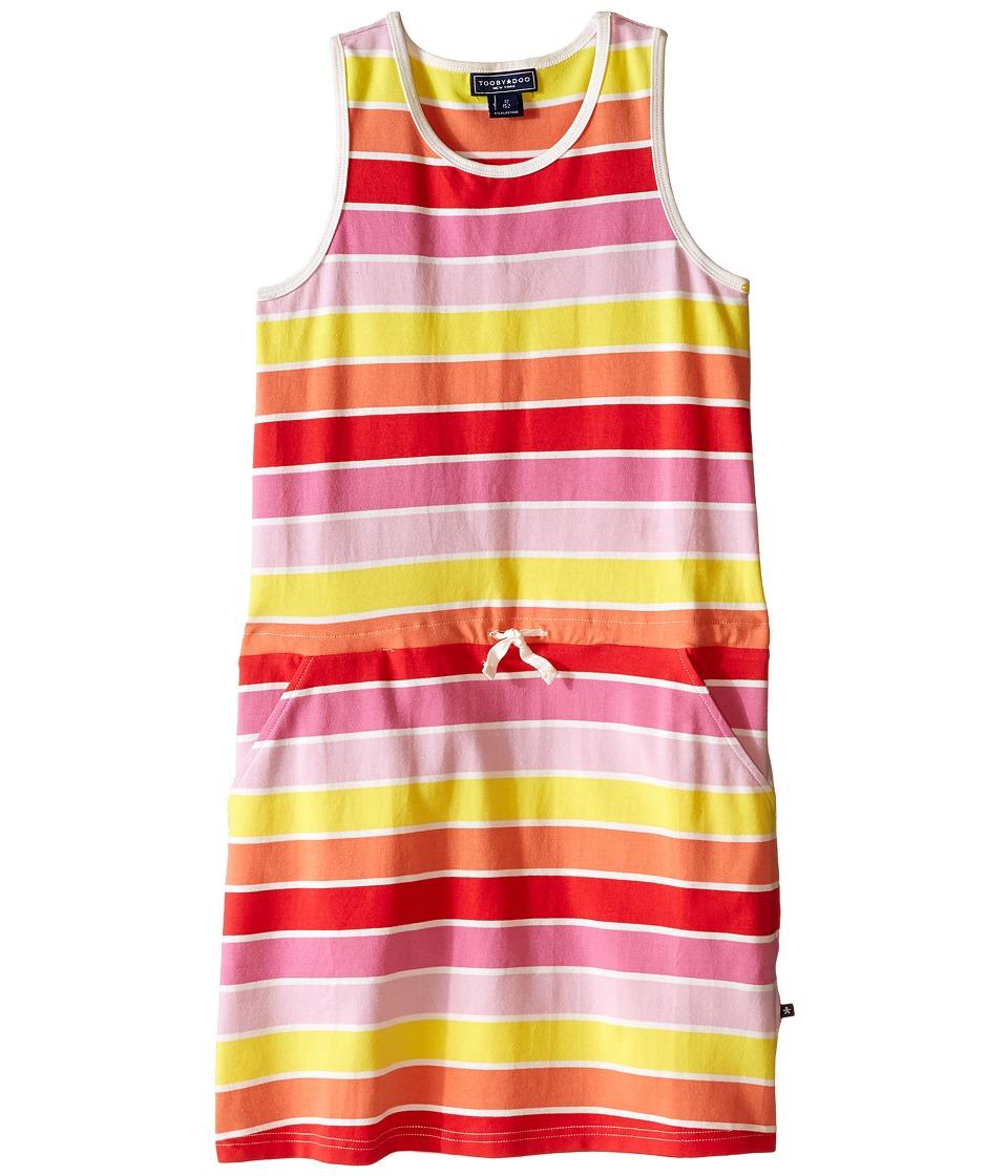 Toobydoo - Tank Beach Dress (Toddler/Little Kids/Big Kids) (Yellow/Orange/Red/Pink) Girl's Dress