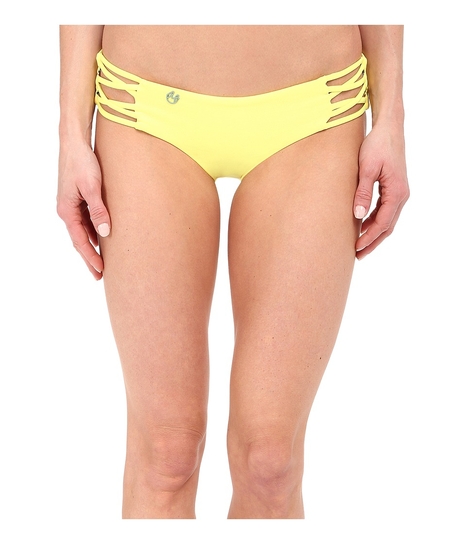 Maaji - Firefly Stream Hipster Cut Bottom (Citrus) Women's Swimwear
