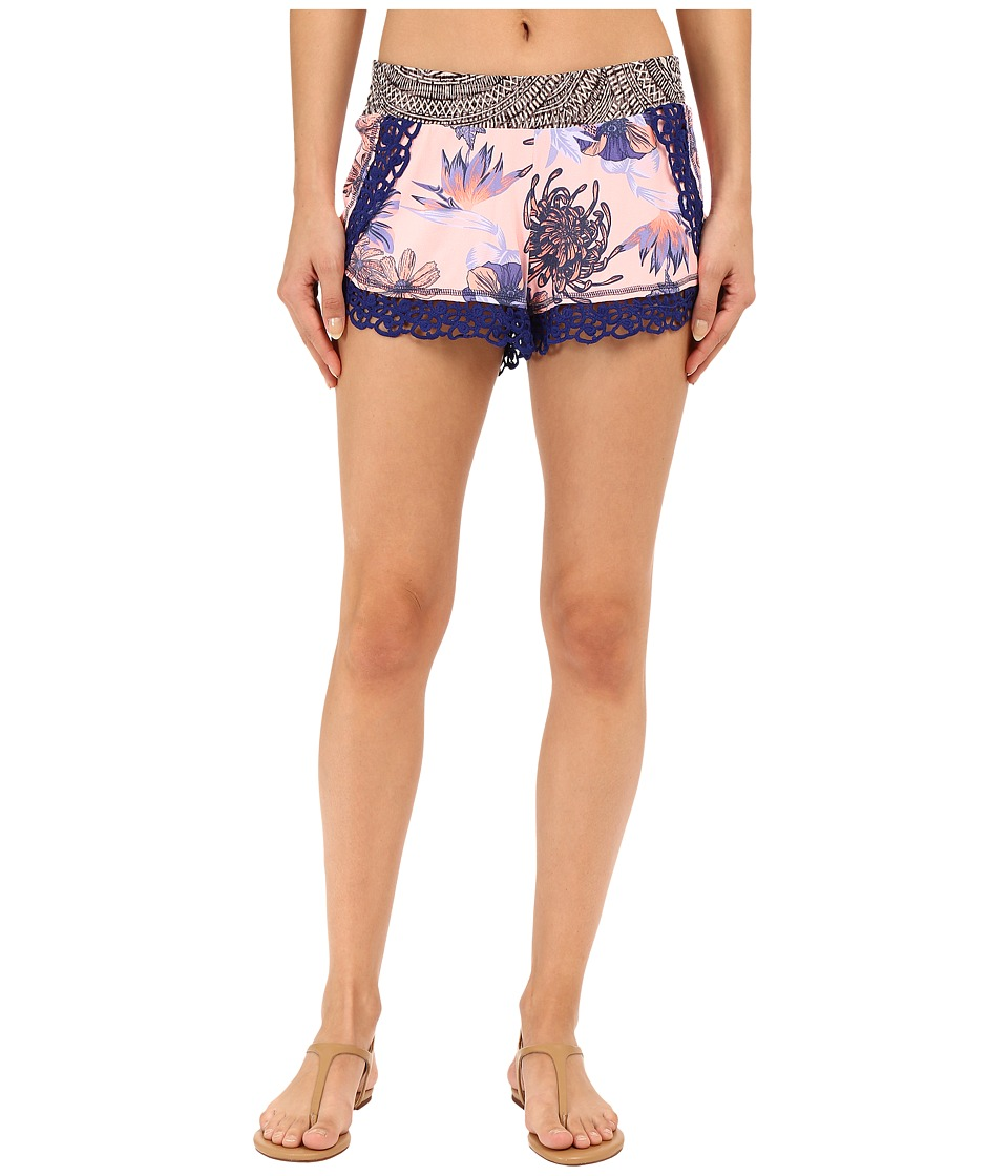Maaji - Periwinkle Switchback Shorts Cover-Up (Multi) Women's Swimwear