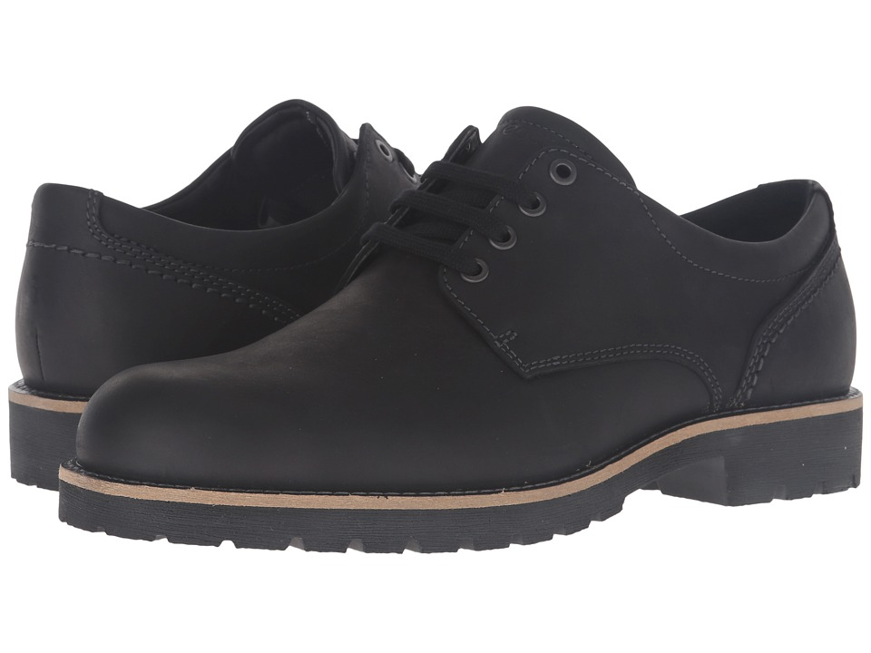 ECCO - Jamestown Low (Black) Men's Shoes