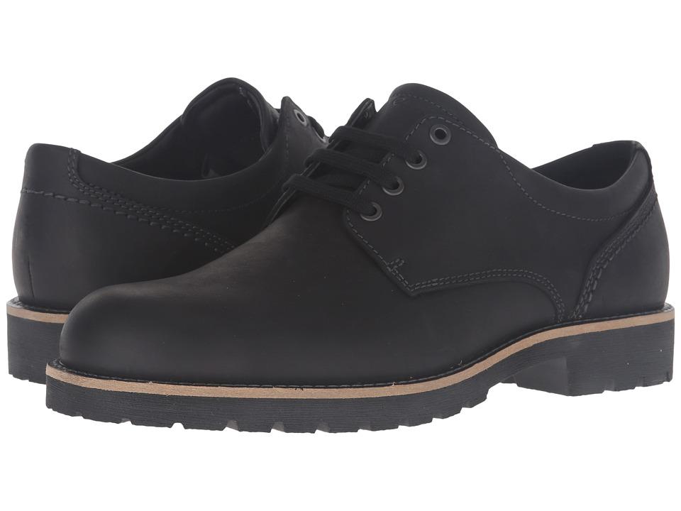 ECCO - Jamestown Low (Black) Men's Shoes