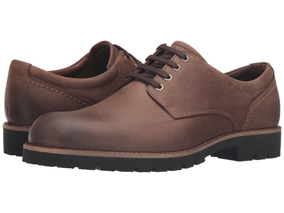 ECCO - Jamestown Low (Cocoa Brown) Men's Shoes