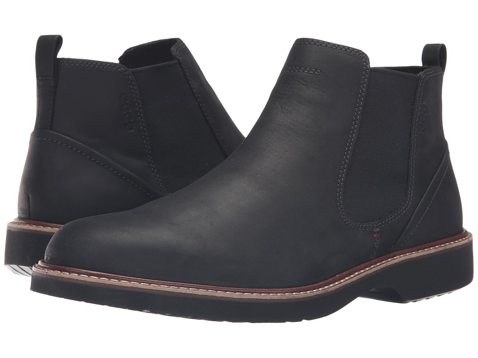 ECCO - Ian Chukka (Black) Men's Boots