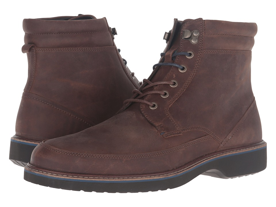 ECCO - Ian High (Cocoa Brown) Men's Boots