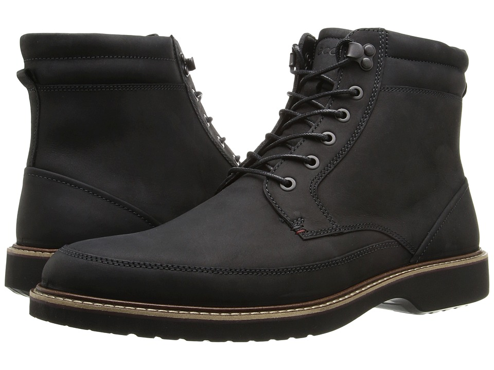 ECCO Ian High Black Mens  Boots