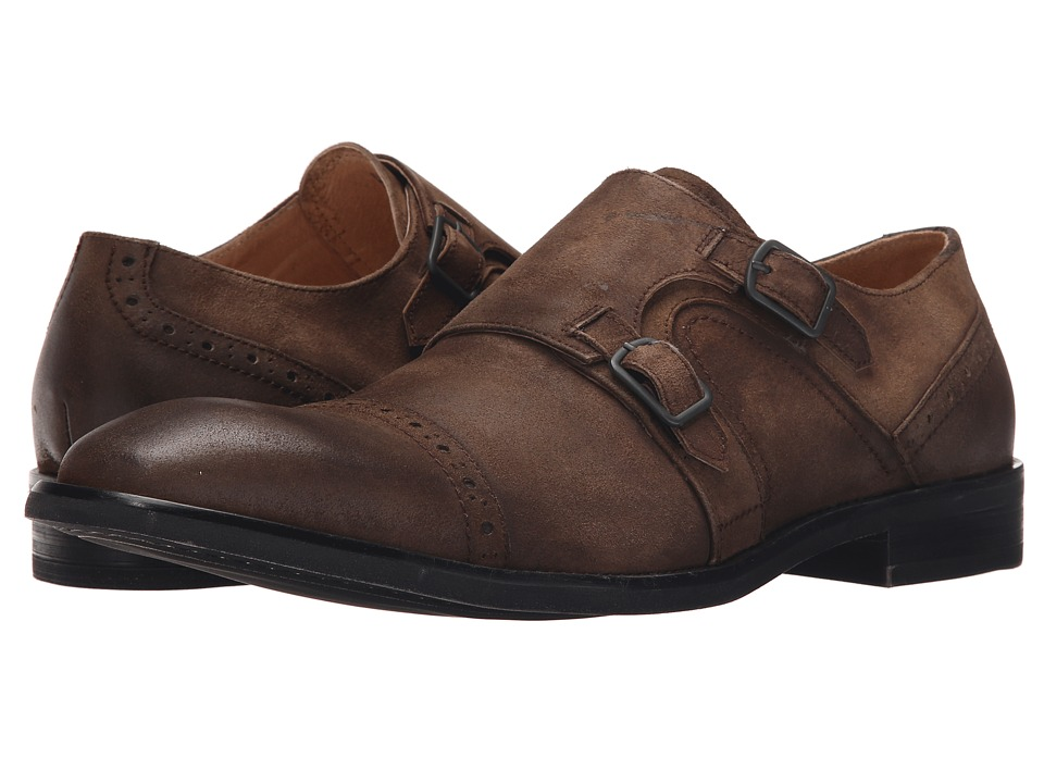 Kenneth Cole New York - Beat The System (Tobacco) Men's Monkstrap Shoes
