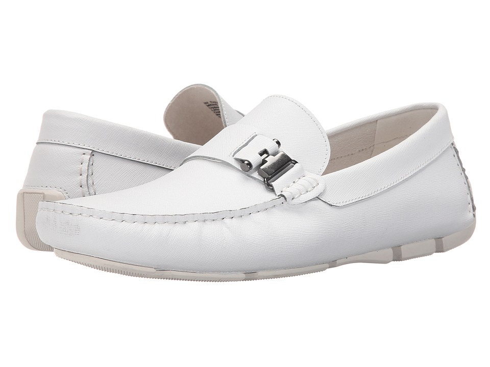 Kenneth Cole New York - In Theme (White) Men's Slip-on Dress Shoes