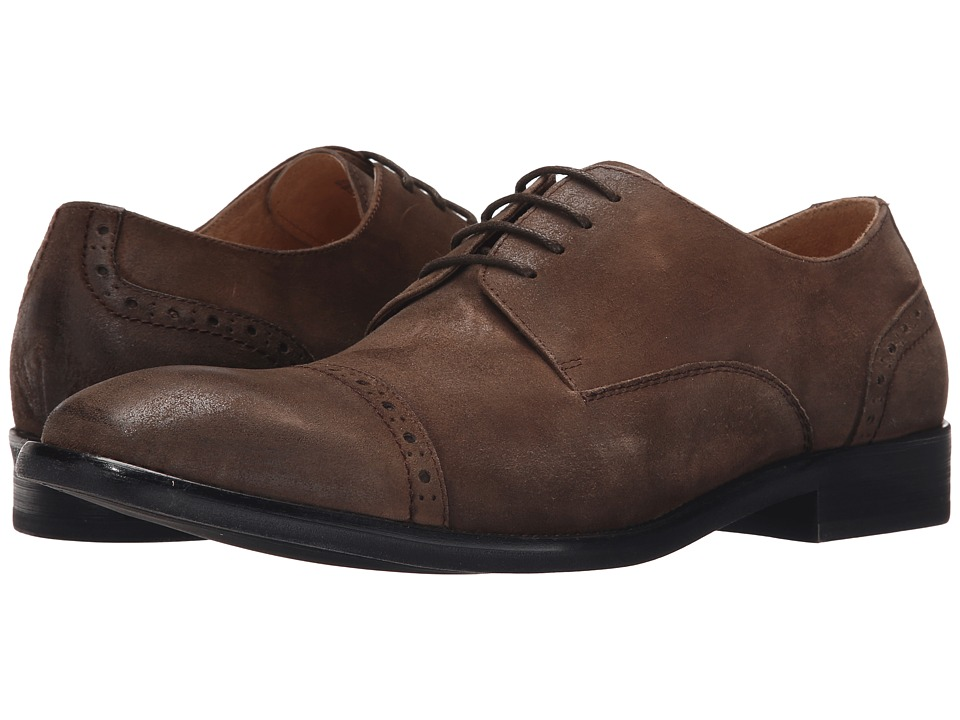 Kenneth Cole New York - System-Atic (Dark Brown) Men's Lace Up Cap Toe Shoes