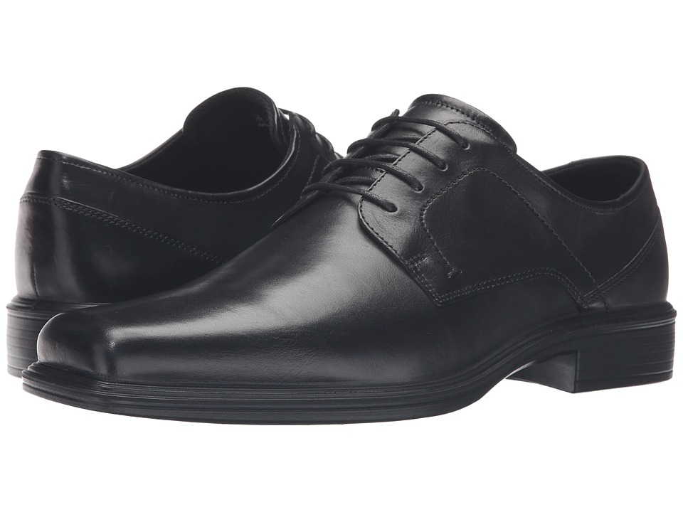 ECCO Johannesburg Plain Tie (Black) Men