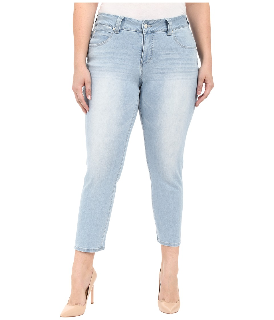 Jag Jeans Plus Size - Plus Size Penelope Ankle in Republic Denim (Blue Wonder) Women's Jeans plus size,  plus size fashion plus size appare
