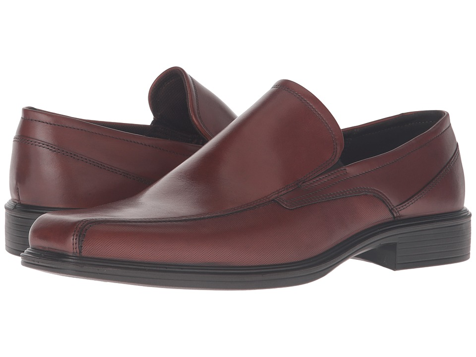 ECCO - Johannesburg Slip-On (Cognac) Men's Shoes