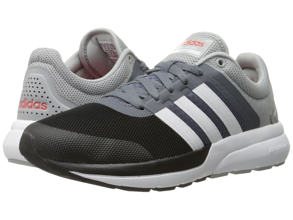 adidas - Cloudfoam Flow 2.0 (Clear Onix/White/Bright Red) Men's Shoes