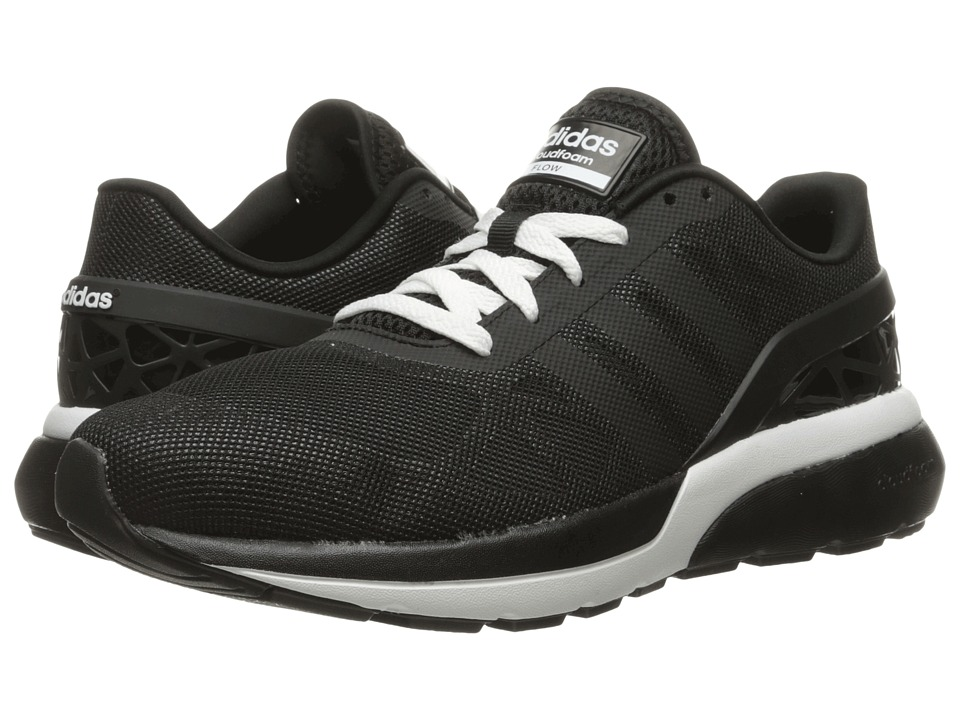 adidas - Cloudfoam Flow (Black/Black/Onix) Men's Running Shoes