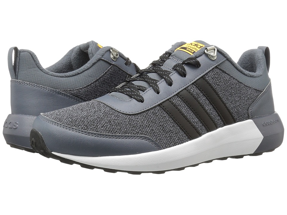 adidas - Cloudfoam Race Winter (Onix/Black/Solar Gold) Men's Shoes
