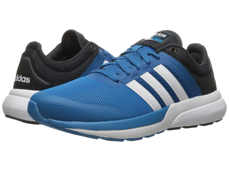 adidas Cloudfoam Flow 2.0 (Solar Blue2/White/Night Grey) Men