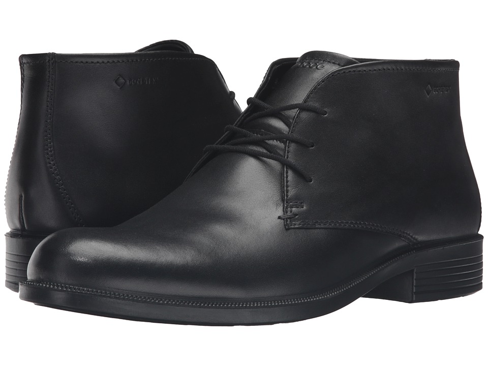 ECCO - Harold GTX Boot (Black) Men's Boots