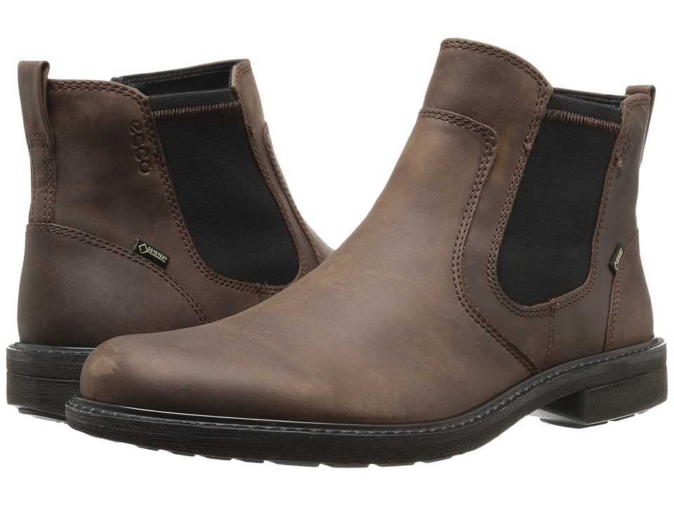 ECCO - Turn GTX Chukka Boot (Cocoa Brown) Men's Boots