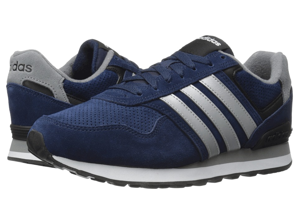 adidas - Runeo 10K (Collegiate Navy/Matte Silver/Black) Men's Shoes