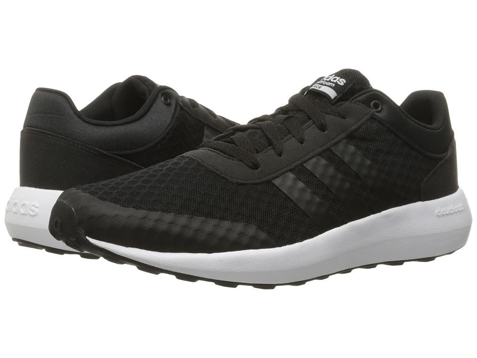 adidas - Cloudfoam Race (Black/White) Men's Shoes