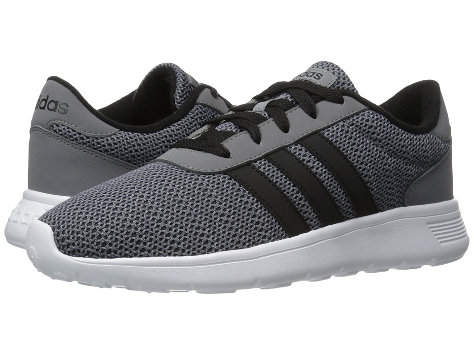 adidas - Lite Racer (Grey/Black/Onix) Men's Shoes