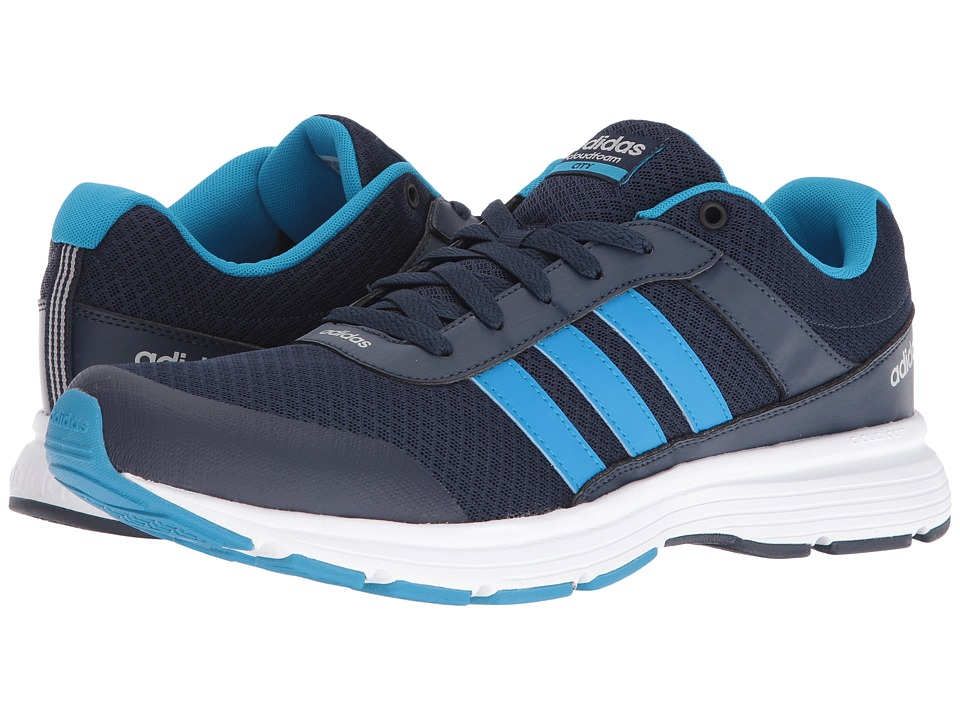 adidas - Cloudfoam VS City (Collegiate Navy/Solar Blue2/Clear Onix) Men's Running Shoes