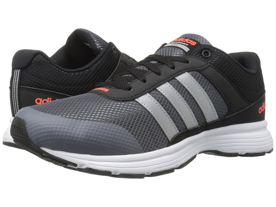 adidas Cloudfoam VS City (Black/Matte Silver/Onix) Men