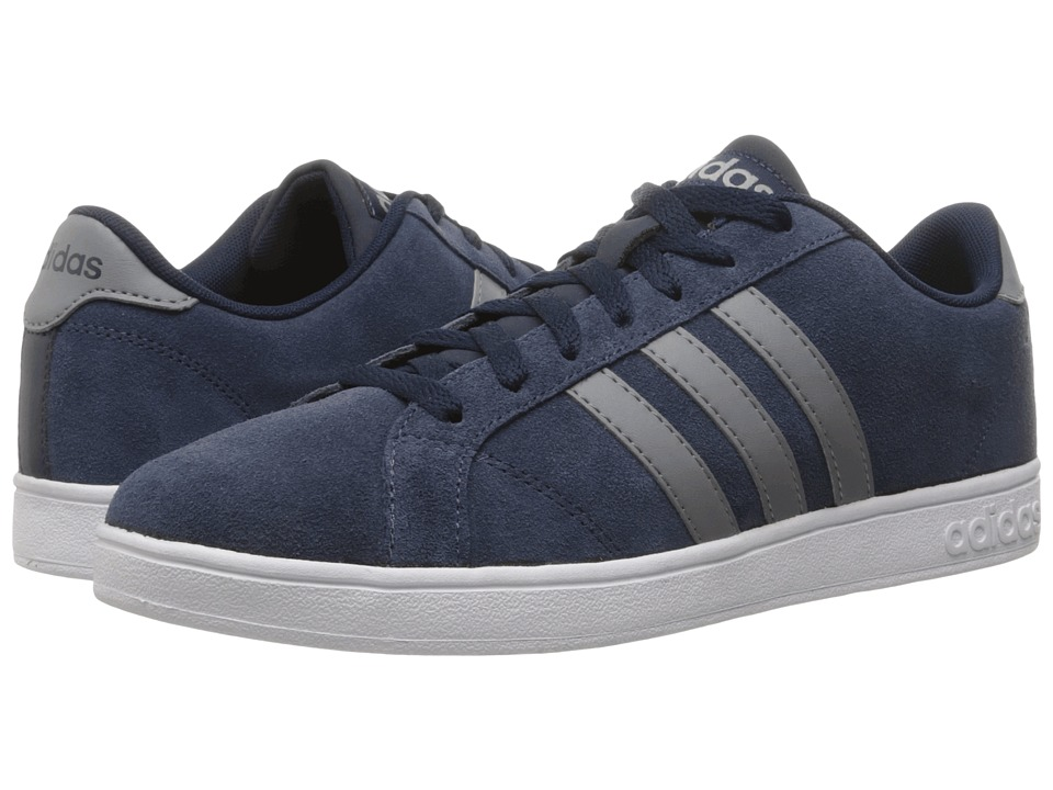 adidas - Baseline (Collegiate Navy/Grey/White) Men's Basketball Shoes
