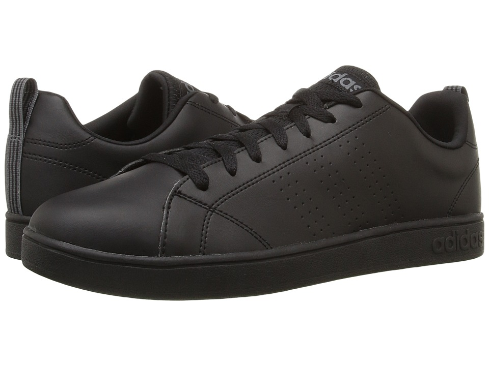 adidas - Advantage Clean VS (Black/Lead) Men's Shoes