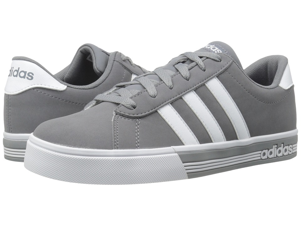 adidas - Daily Team (Grey/White) Men's Shoes