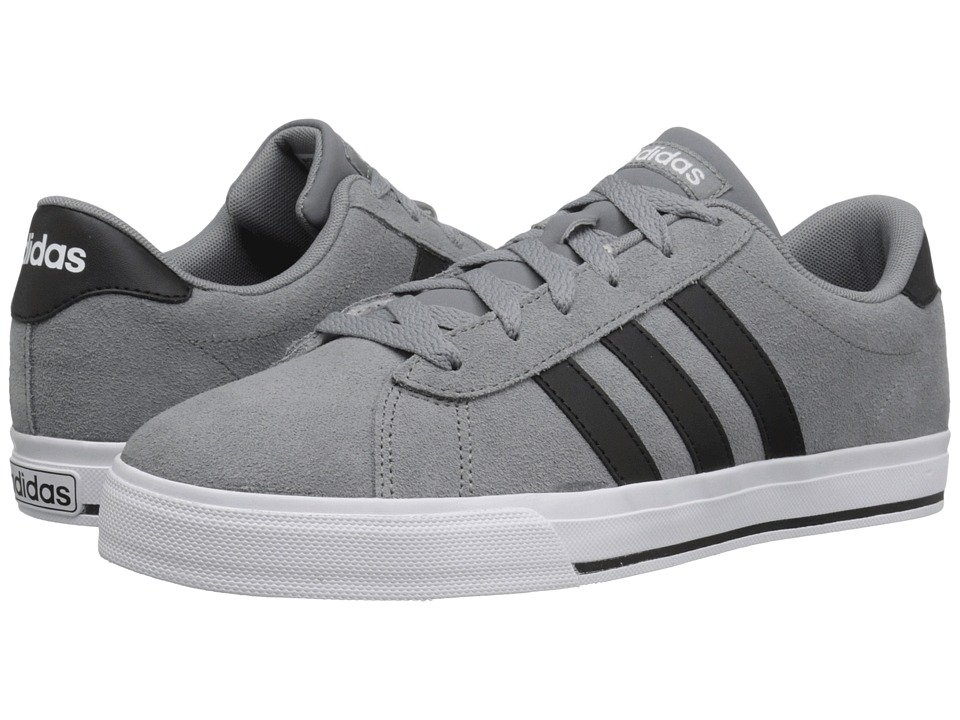 adidas - Daily (Grey/Black/White) Men's Shoes