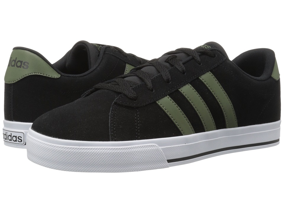 adidas - Daily (Black/Base Green/White) Men's Shoes