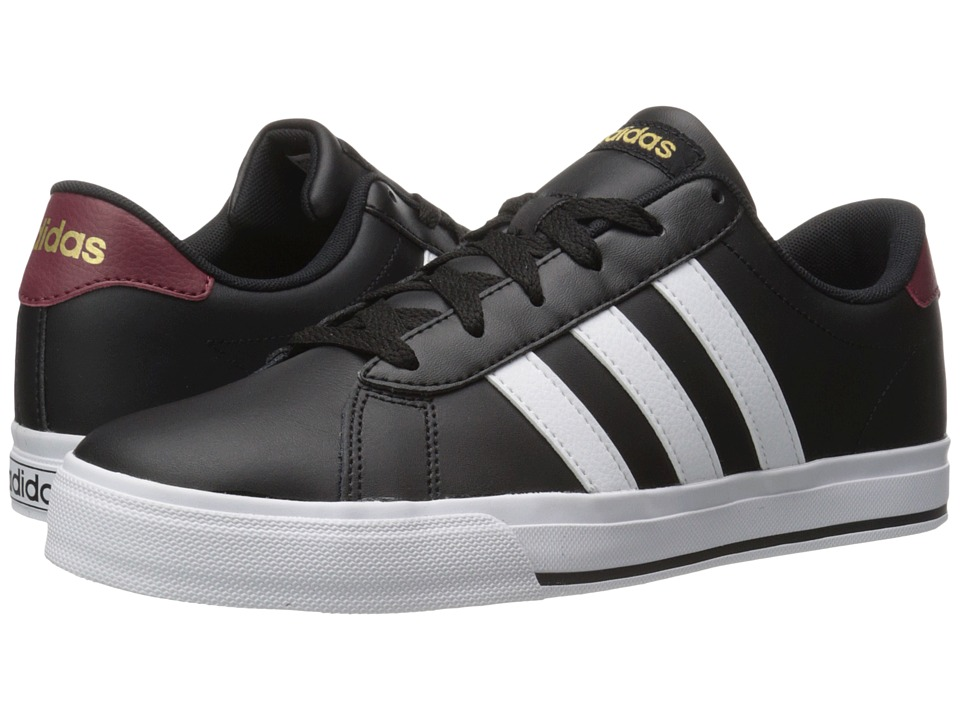 adidas Daily (Black/White/Matte Gold) Men
