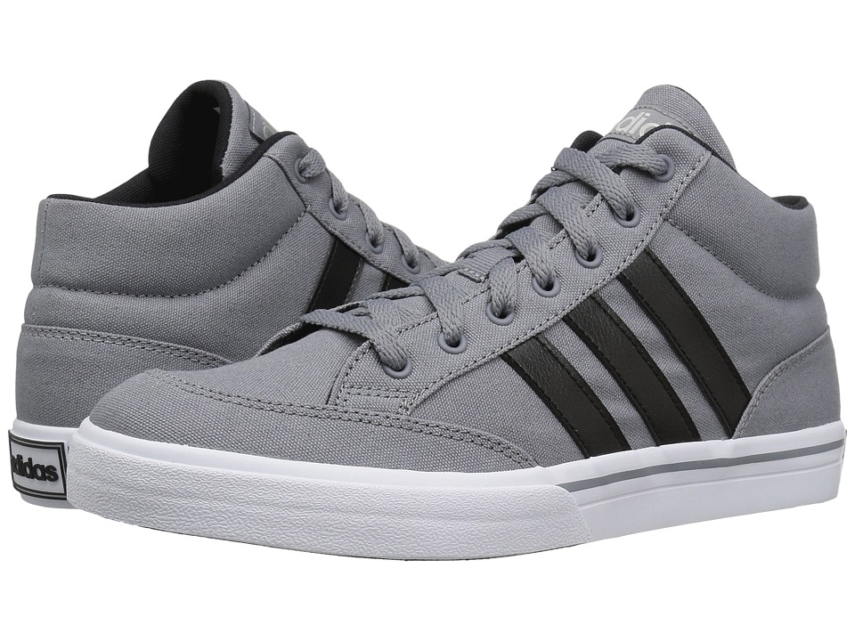 adidas - GVP Mid (Grey/Black/Matte Silver) Men's Shoes