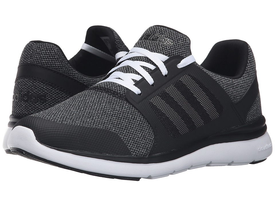 adidas - Cloudfoam Xpression (Black/White/Onix) Women's Running Shoes