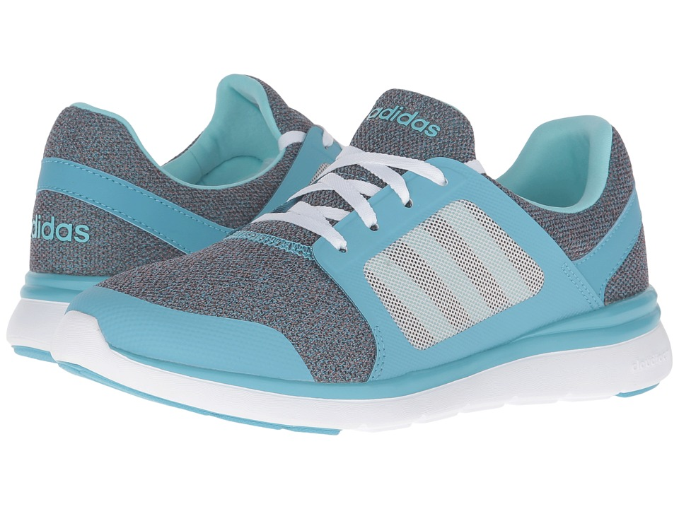 adidas - Cloudfoam Xpression (Vapour Blue/BlueZest/White) Women's Running Shoes