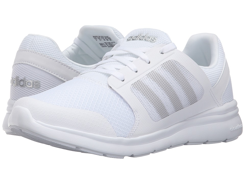 adidas - Cloudfoam Xpression (White/White) Women's Running Shoes