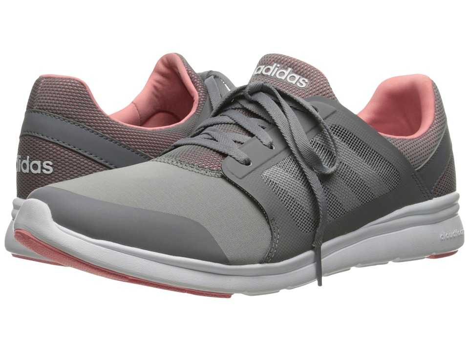 adidas - Cloudfoam Xpression (Grey/White/Pink) Women's Running Shoes